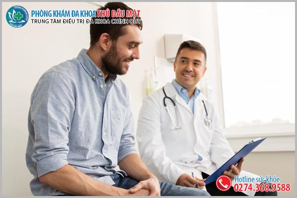 Phòng khám nam khoa uy tín ngoài giờ ở Thuận An
