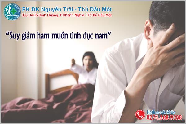 Suy giảm ham muốn tình dục ở nam giới cách khắc phục hiệu quả