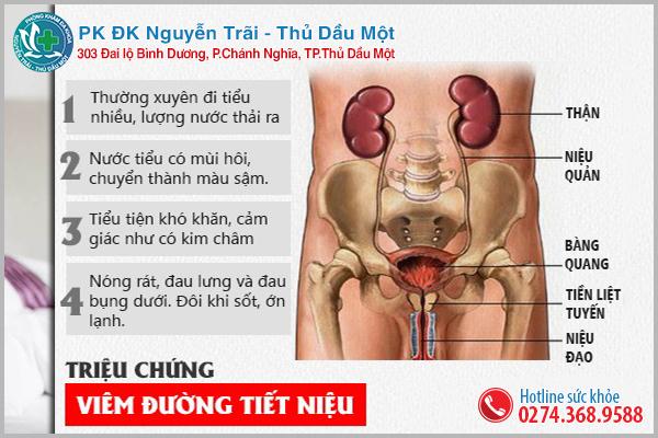 Viêm nhiễm đường tiết niệu bệnh thường gặp ở nam giới