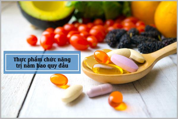 Thực phẩm chức năng hỗ trợ trị nấm bao quy đầu hiệu quả
