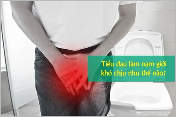 Tiểu đau làm nam giới khó chịu như thế nào?