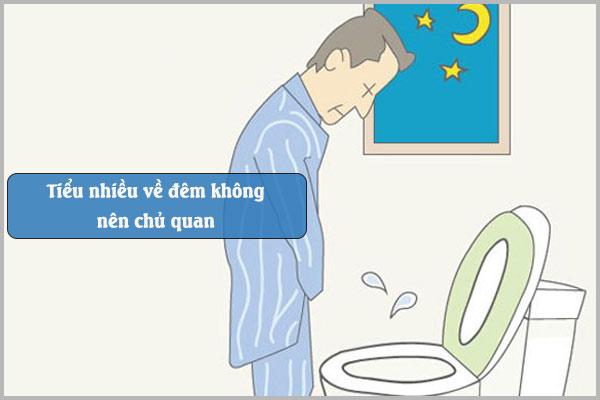 Tiểu nhiều về đêm không nên chủ quan