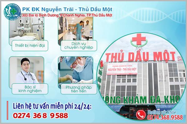 Điều trị yếu sinh lý hãy đến Phòng khám Đa khoa Thủ Dầu Một