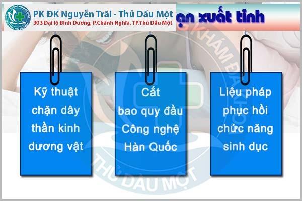 ĐIỀU TRỊ RỐI LOẠN XUẤT TINH SỚM TẠI Đa Khoa Nguyễn Trãi - Thủ Dầu MỘT