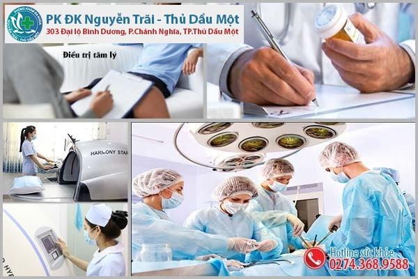 Cách hỗ trợ trị bệnh liệt dương tại Đa Khoa Nguyễn Trãi - Thủ Dầu Một