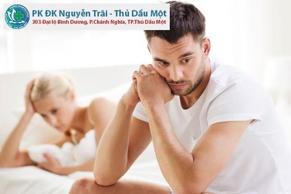 Những dấu hiệu yếu sinh lý ở nam giới
