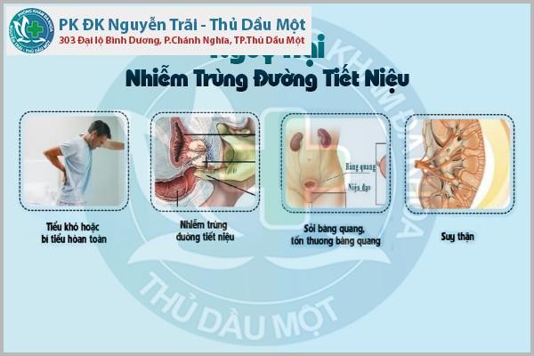 Những nguy hại của bệnh nhiễm trùng đường tiết niệu