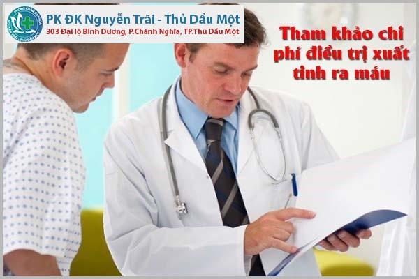 Tham khảo chi phí điều trị xuất tinh ra máu