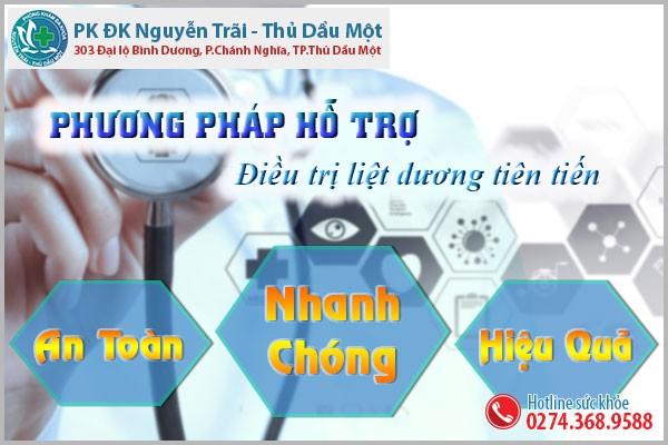 Cách hỗ trợ điều trị liệt dương hiệu quả tại Đa Khoa Nguyễn Trãi - Thủ Dầu Một
