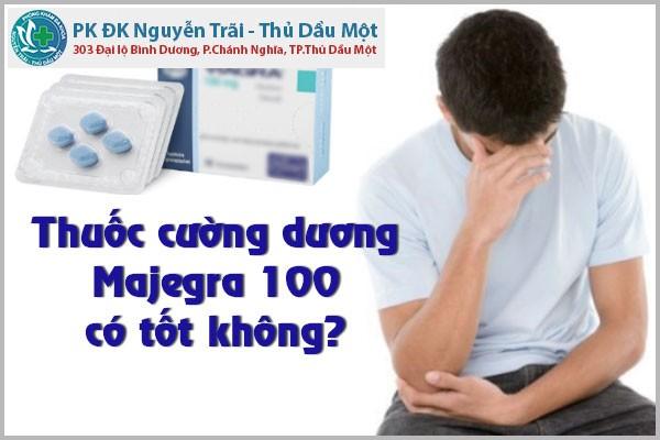 Thuốc cường dương Majegra 100 có tốt không?