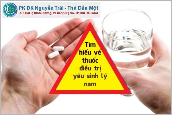Tìm hiểu về thuốc điều trị yếu sinh lý nam
