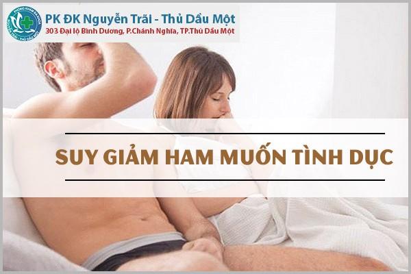 Vì sao nam giới bị giảm ham muốn và biện pháp chữa trị