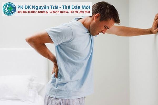 Đau bàng quang ở nam giới có phải bị viêm?