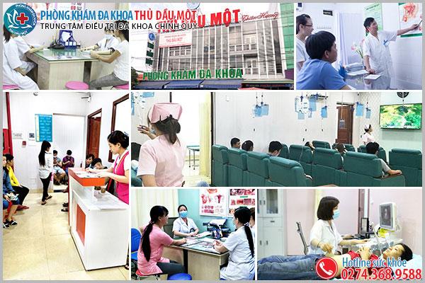 Phòng khám Đa Khoa Nguyễn Trãi - Thủ Dầu Một là nơi chữa viêm đường tiết niệu