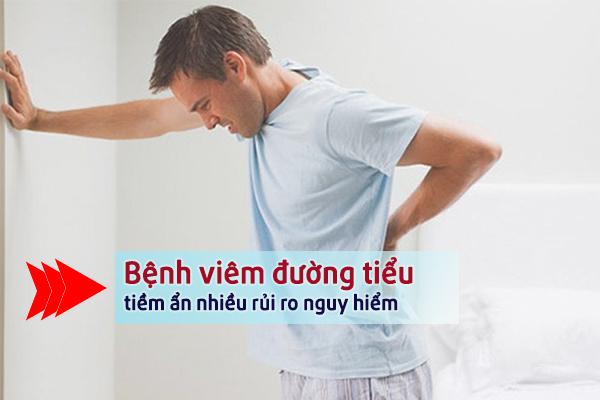 Cảnh báo nguy hiểm nam giới khi bị viêm đường tiểu